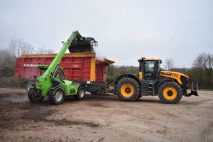 Transport de déchets verts